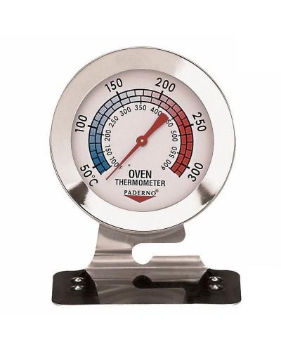 Termometro Forno Professionale Acciaio Inox +38° +316°C Paderno
