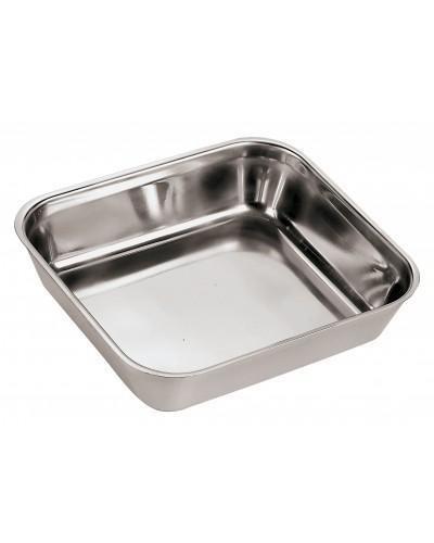 Contenitore Alimenti Cucina Acciaio Inox 50x35x5,5 cm Sambonet Paderno