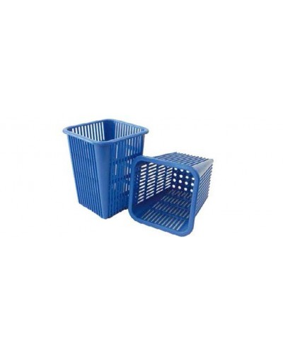 Cestino Scolaposate Blu Quadrato per Lavastoviglie