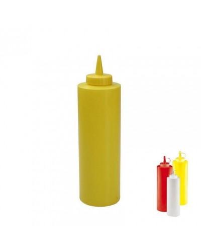 Flacone Dosatore Giallo 0,24 cl | Squeeze Bottle per Salse e Olio