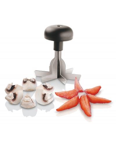 Taglia Frutta e Verdure In 6 Acciaio Inox Ø 8,5 cm Sambonet Paderno