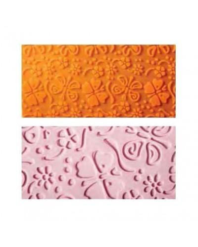 Tappetino Farfalle 60x40 cm Decorazione Pasta di Zucchero Ambra's