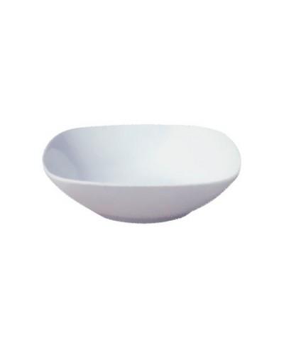 Insalatiera Porcellana Bianca Quadrata Mimoza 21x21 cm Gural
