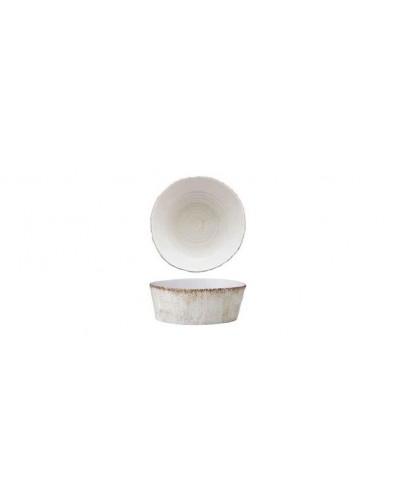 Insalatiera Porcellana Effetto Legno Marrone Ø 18 cm H 7 cm