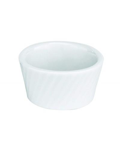 Coppetta Porcellana Cordonata Soufflè Ø 9 cm