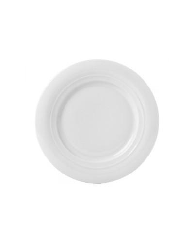 Piatto Frutta Moscow Bianco in Porcellana Ø 23 Cm Gural