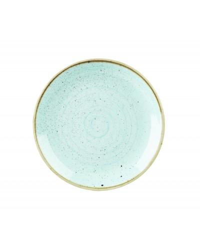 Piatto Piano Stonecast Azzurro in Porcellana Ø 22 cm Churchill