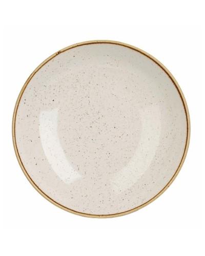 Piatto Fondo Stonecast Bianco in Porcellana Ø 25 cm Churchill