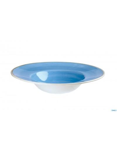 Piatto Pasta Stonecast Blu Ø 24 cm