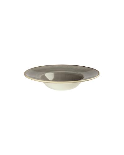 Piatto Pasta Stonecast Grigio Ø 24 cm