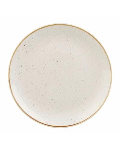 Piatto Piano Stonecast Bianco in Porcellana Ø 16,5 cm Churchill
