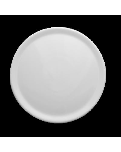 Piatto Pizza Bianco in Porcellana Ø 33 cm Lubiana