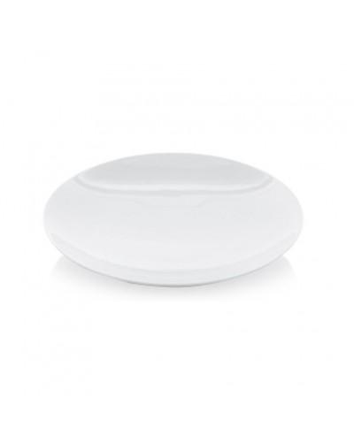 Piatto Fondo Athens Gourmet Bianco in Porcellana Ø 26 cm Gural