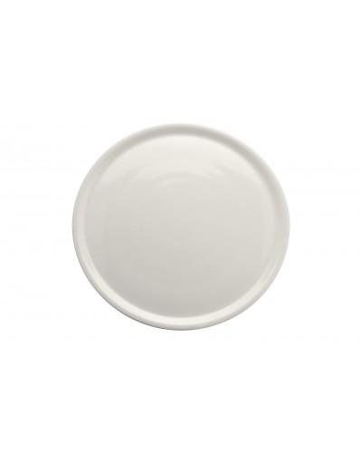 Piatto Pizza Napoli Bianco in Porcellana Ø 33 cm Saturnia