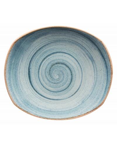 Set 6 Piatti Piani Artisan Azzurri 30,5 cm
