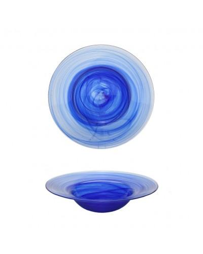 Set 6 Piatti Pasta Atlas Blu Ø 23 cm