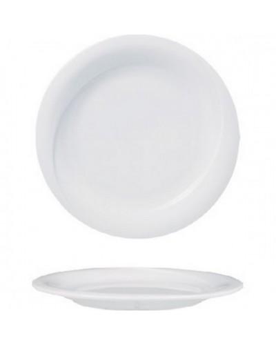 Piatto Frutta X-Tanbul Bianco in Porcellana Ø 21 cm Gural