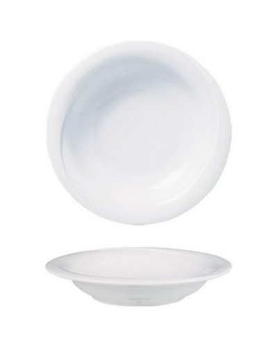 Piatto Fondo X-Tanbul Bianco in Porcellana Ø 22 cm Gural