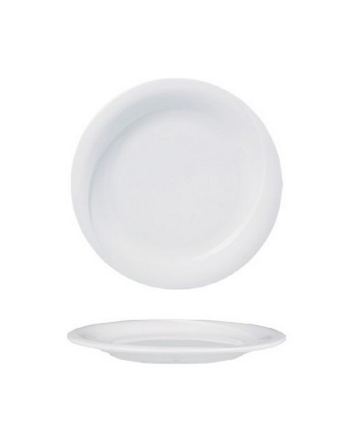 Piatto Pane X-Tanbul Bianco in Porcellana Ø 17 cm Gural