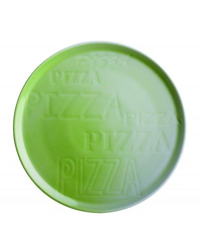 Piatto Pizza Cinzia Verde in Porcellana Ø 33 cm Tognana