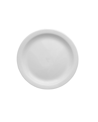 Piatto Frutta Ameryka Bianco in Porcellana Ø 18,5 cm Lubiana