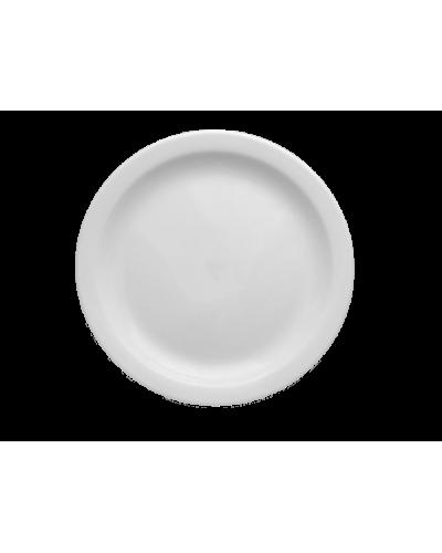 Piatto Dessert Ameryka Bianco in Porcellana Ø 21 cm Lubiana