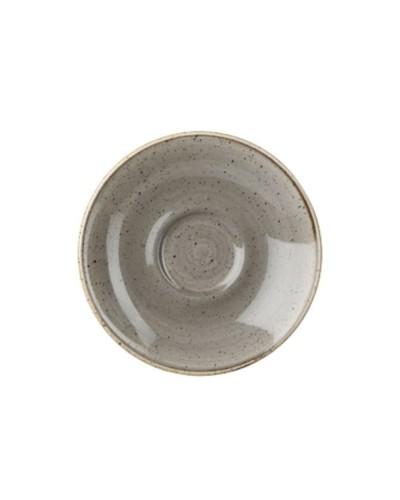Piattino Tazza Caffè Stonecast Grigio in Porcellana Churchill