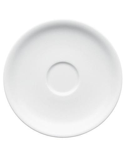 Piattino Tazza Espresso Omnia Bianco in Porcellana 13 cm Arthur Krupp