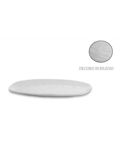 Vassoio Origin Ovale Bianco in Porcellana 33x23 cm