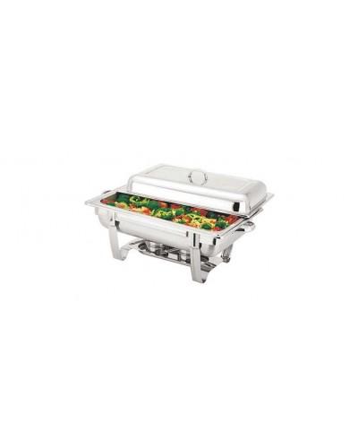 Chafing Dish Scaldavivande Acciaio Inox 63x35x32 cm