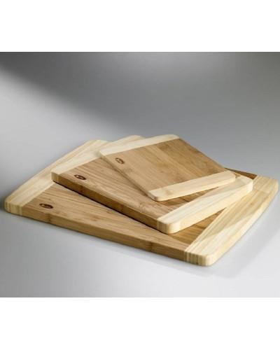 Tagliere Bamboo Naturale Rettangolare 30x22 cm Leone