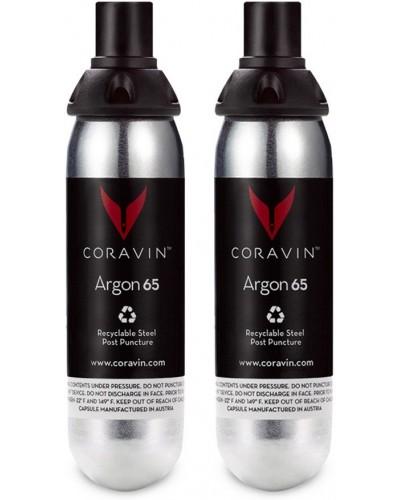 Kit 2 Capsule Gas per Sistema di Mescita Vino Coravin