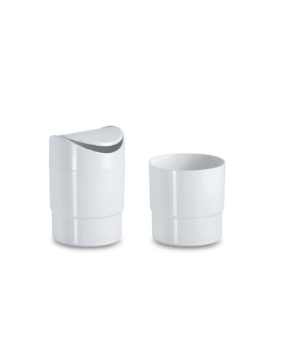 White Table Waste Carrier