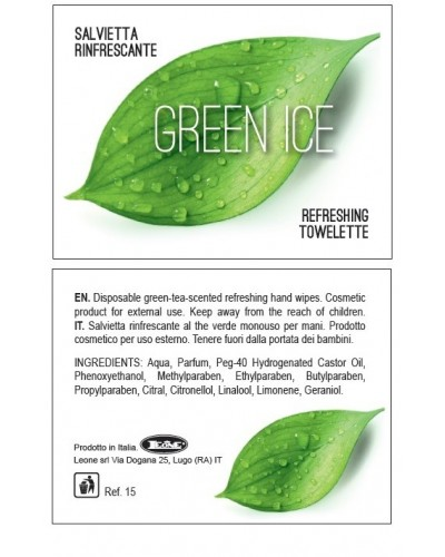 Salvietta The Verde Green Ice 500 pz