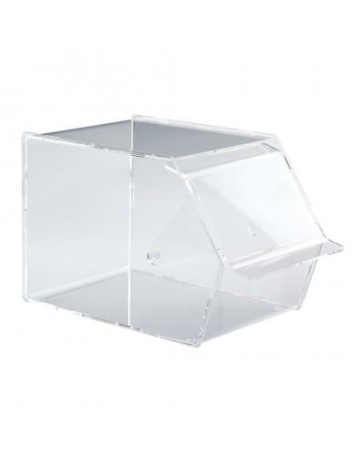 Porta Palette Gelato in Plexiglass Trasparente 18,5x30x19 cm Errenne
