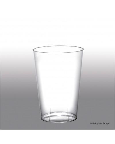 Bicchiere Moon Trasparente 200 cc 10 pz Gold Plast