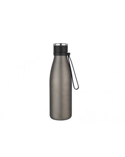 Bottiglia Isolante Grigio Opaco Con Tappo 0,55 lt Eva