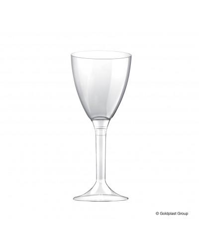 Calici Acqua Vino Completo Trasparente 180 cc 10 pz Gold Plast