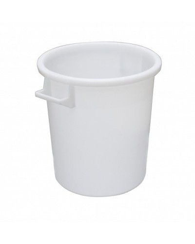 Bidone Industriale Bianco per Alimenti in Polipropilene Mobil Plastic