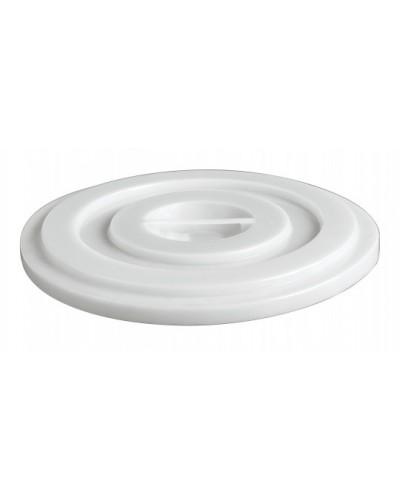 Coperchio Bianco per Bidone Industriale in Polipropilene Mobil Plastic