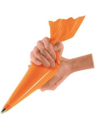 Sac a Poche Arancione Rinforzato 55x29 cm 100 pz Crown Chef