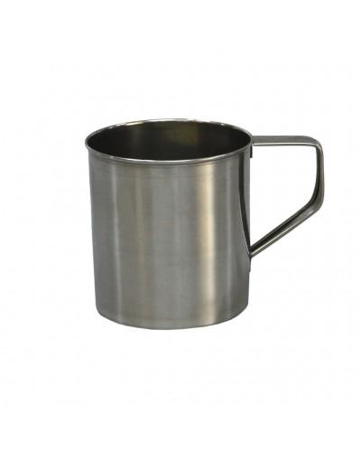 Bicchiere Con Manico Inox Mug Cm 10