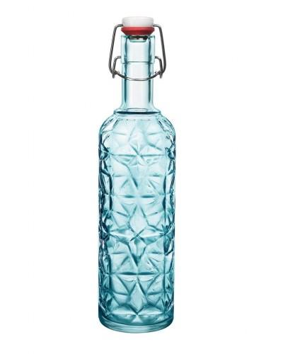 Bottiglia Oriente Blu 110 cl con Tappo