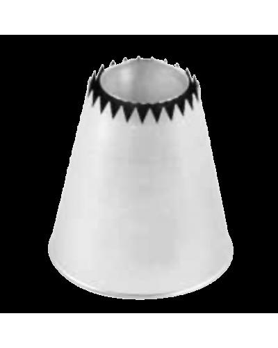 Bocchetta Acciaio Special Big Sultano Ø 31 mm h. 56 mm Martellato