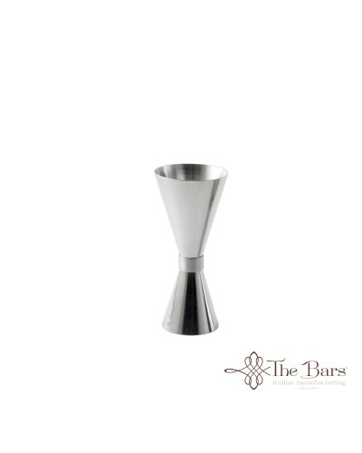 Jigger Clepsydra 15/30 ml in Acciaio Inox The Bars