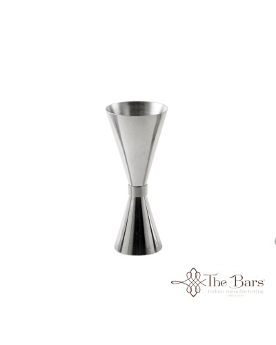 Clepsydra Jigger per Cocktail da 10-20-40 ml in Acciaio Inox The Bars