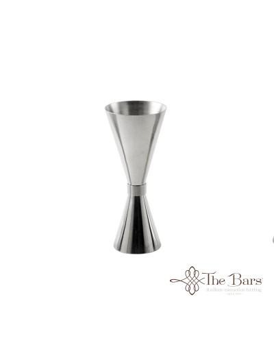 Clepsydra Jigger per Cocktail da 10-20-40 ml in Acciaio Inox The Bars