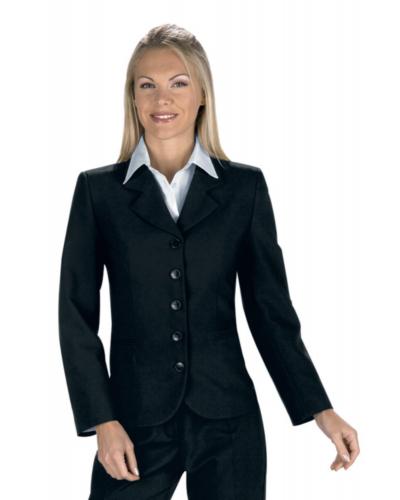 Giacca Donna Boston Foderata Blu per Receptionist Isacco