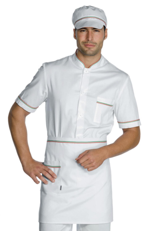 Camice Medico ISACCO Colore Bianco