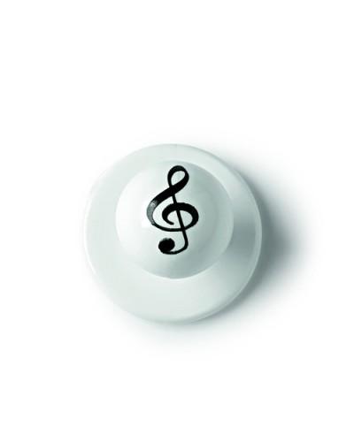 Set 12 Bottoni Bianchi Music